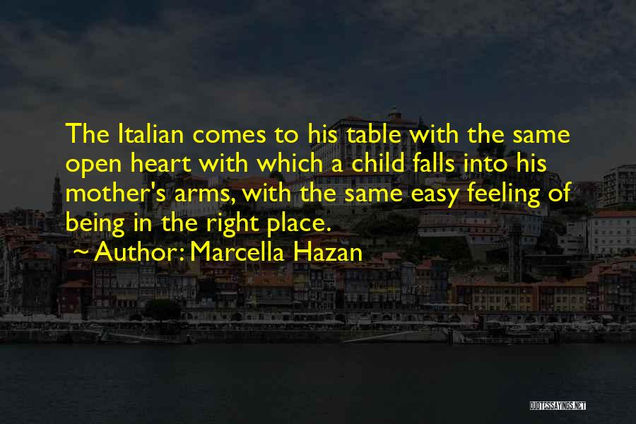 Child's Heart Quotes By Marcella Hazan