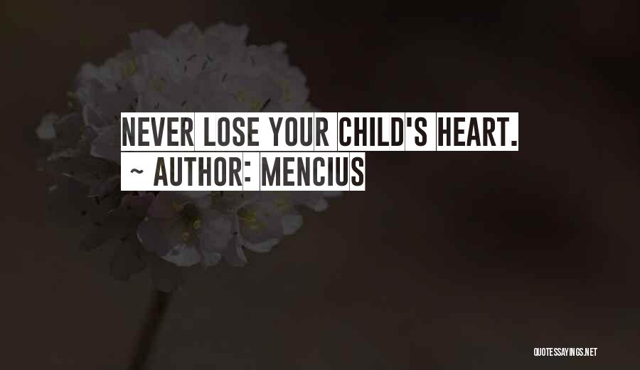 Child's Heart Quotes By Mencius