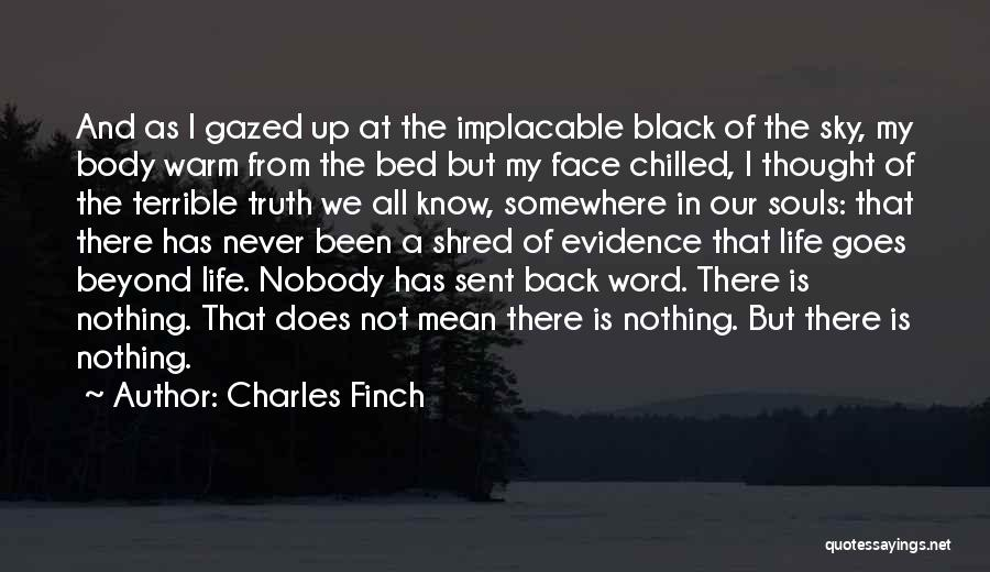 Chilled Out Quotes By Charles Finch