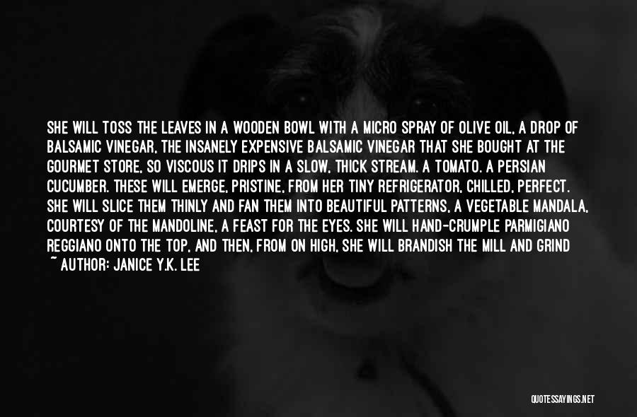 Chilled Out Quotes By Janice Y.K. Lee
