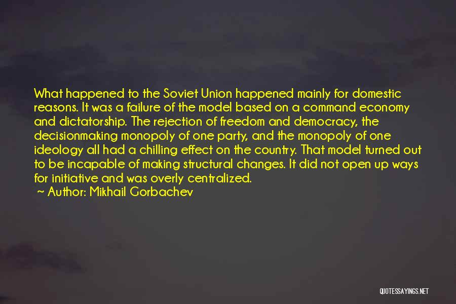 Chilling Out Quotes By Mikhail Gorbachev