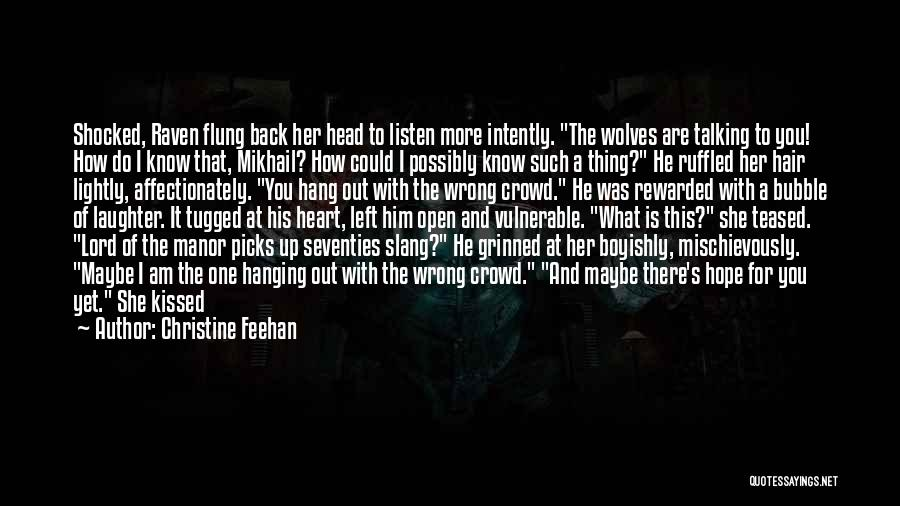 Chin Up Quotes By Christine Feehan