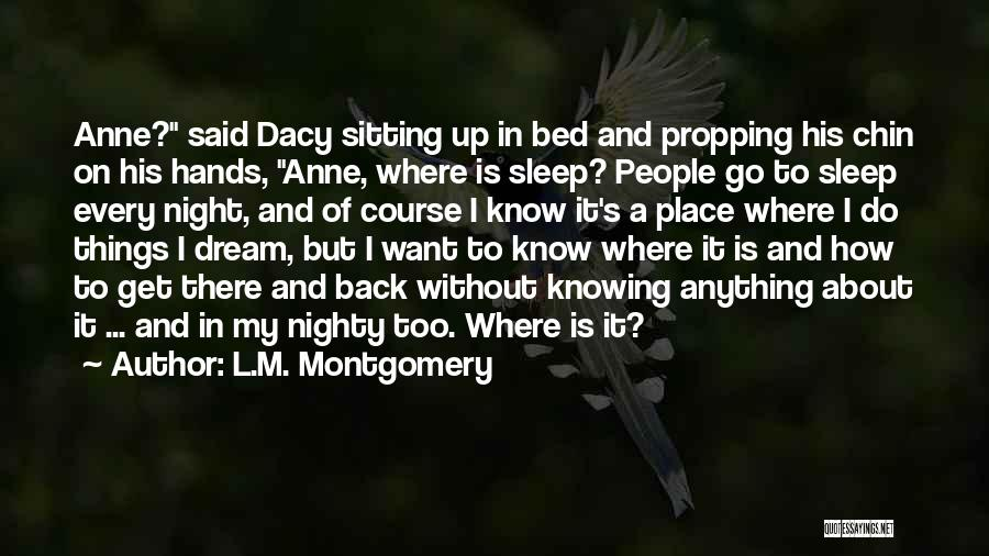 Chin Up Quotes By L.M. Montgomery