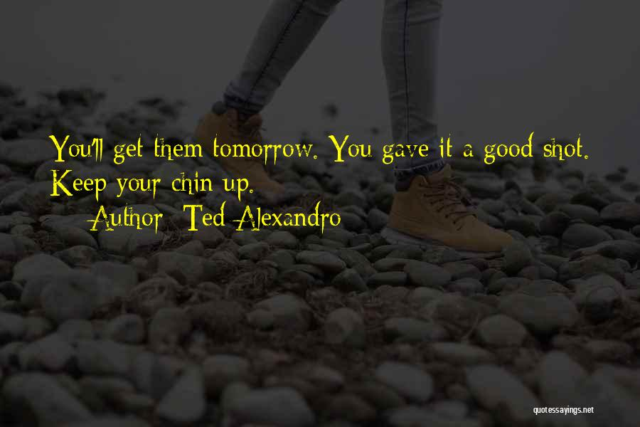 Chin Up Quotes By Ted Alexandro