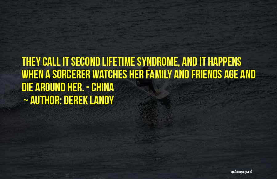 China Syndrome Quotes By Derek Landy