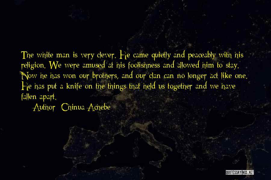 Chinua Achebe Quotes 1810619