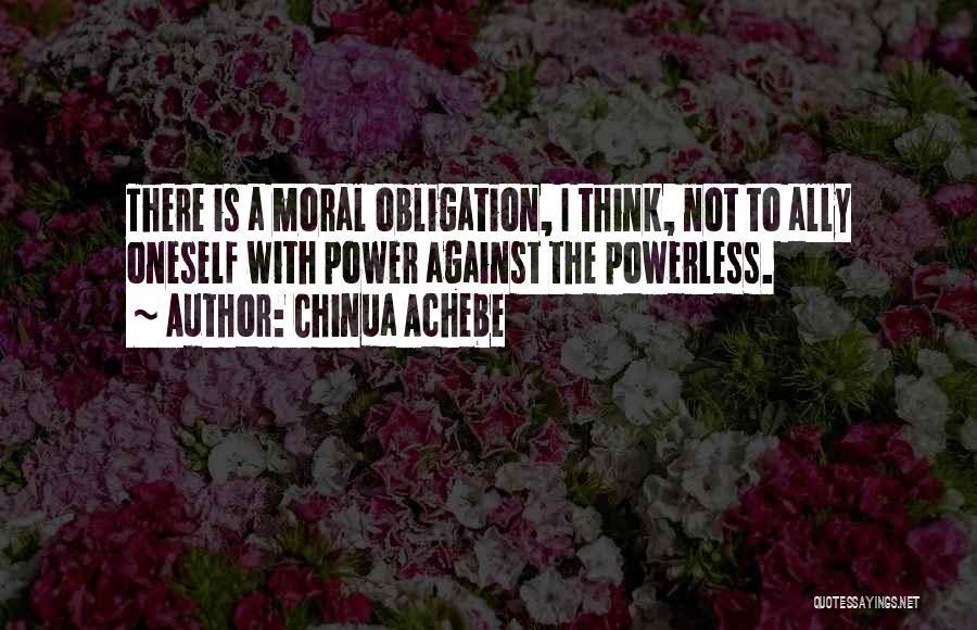 Chinua Achebe Quotes 386224