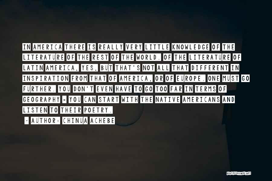 Chinua Achebe Quotes 530288