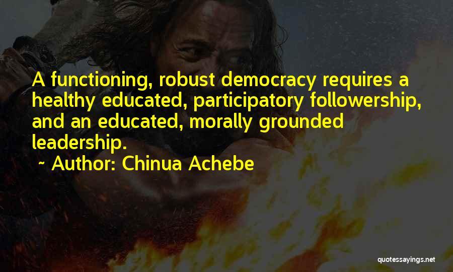 Chinua Achebe Quotes 849725