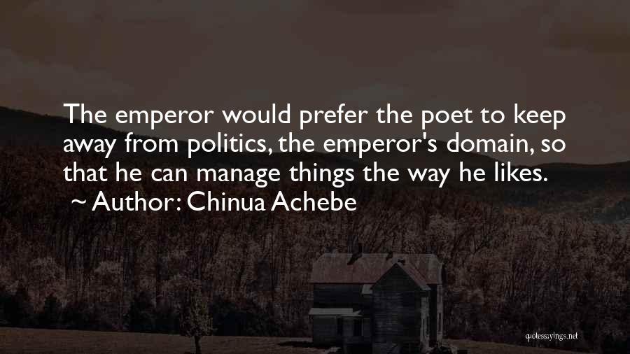 Chinua Achebe Quotes 880352