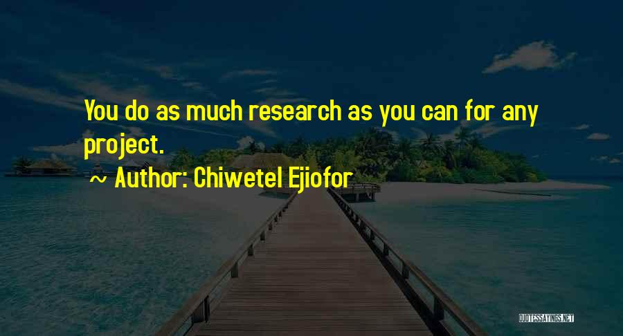 Chiwetel Ejiofor Quotes 1068602