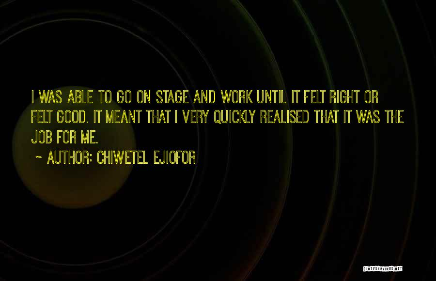 Chiwetel Ejiofor Quotes 1313034