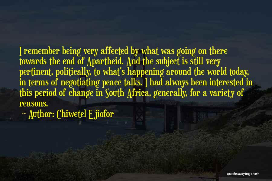 Chiwetel Ejiofor Quotes 1392810