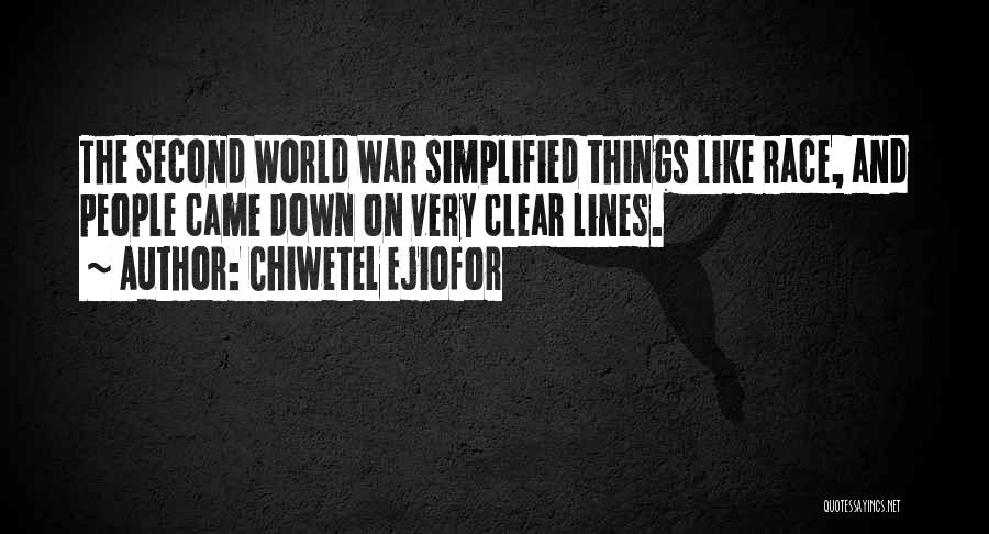 Chiwetel Ejiofor Quotes 1659661