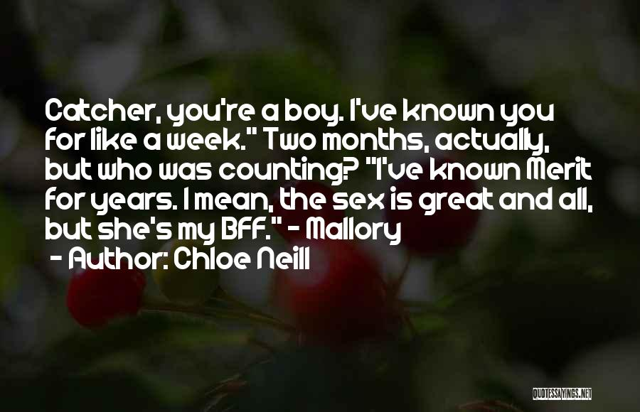 Chloe Neill Quotes 235702