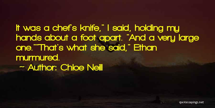 Chloe Neill Quotes 303125
