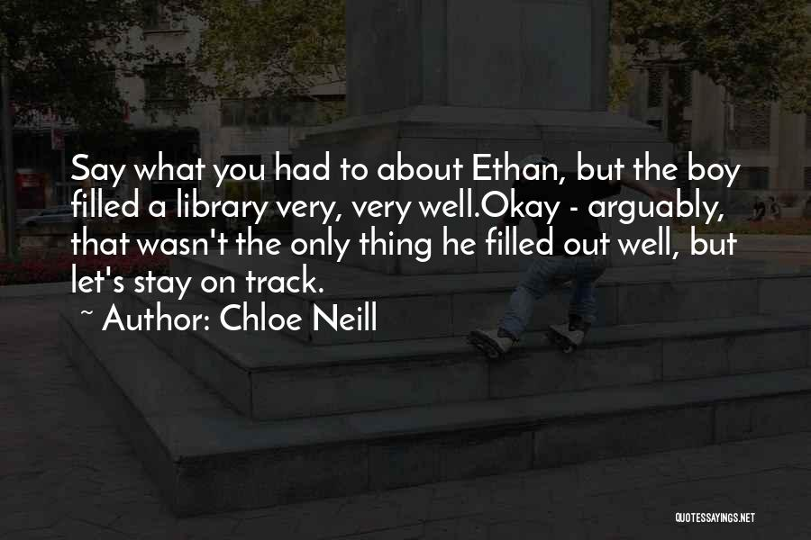 Chloe Neill Quotes 341508