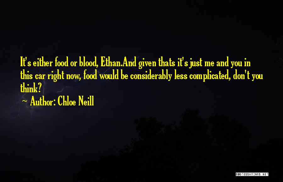 Chloe Neill Quotes 400577