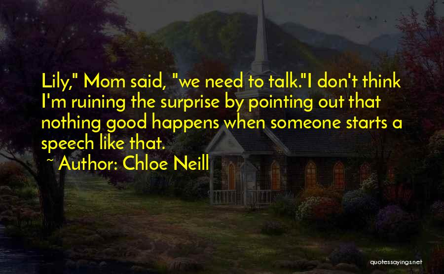 Chloe Neill Quotes 808125