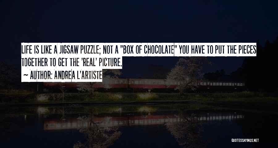 Chocolate And Books Quotes By Andrea L'Artiste