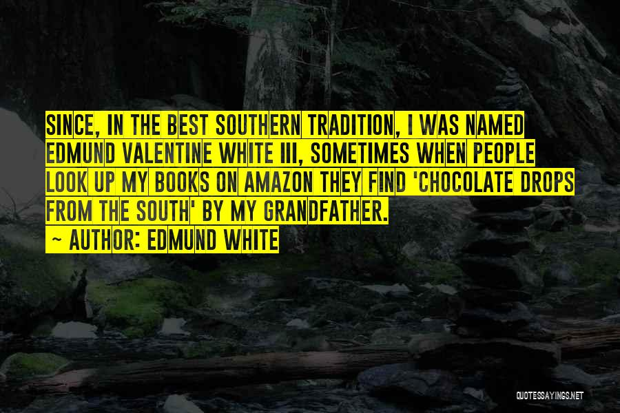 Chocolate And Books Quotes By Edmund White
