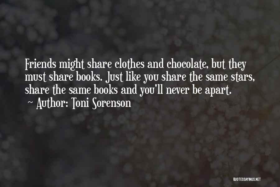 Chocolate And Books Quotes By Toni Sorenson