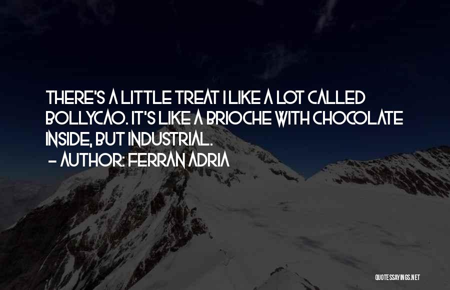 Chocolate Treats Quotes By Ferran Adria