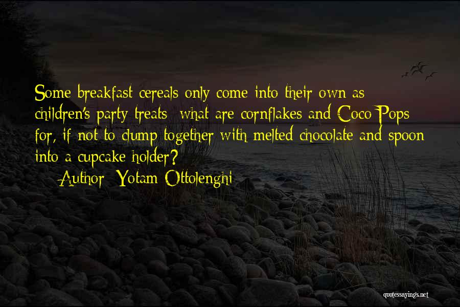 Chocolate Treats Quotes By Yotam Ottolenghi