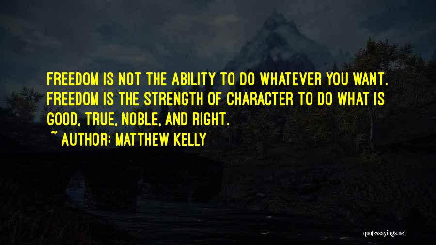 Choice And Power Quotes By Matthew Kelly