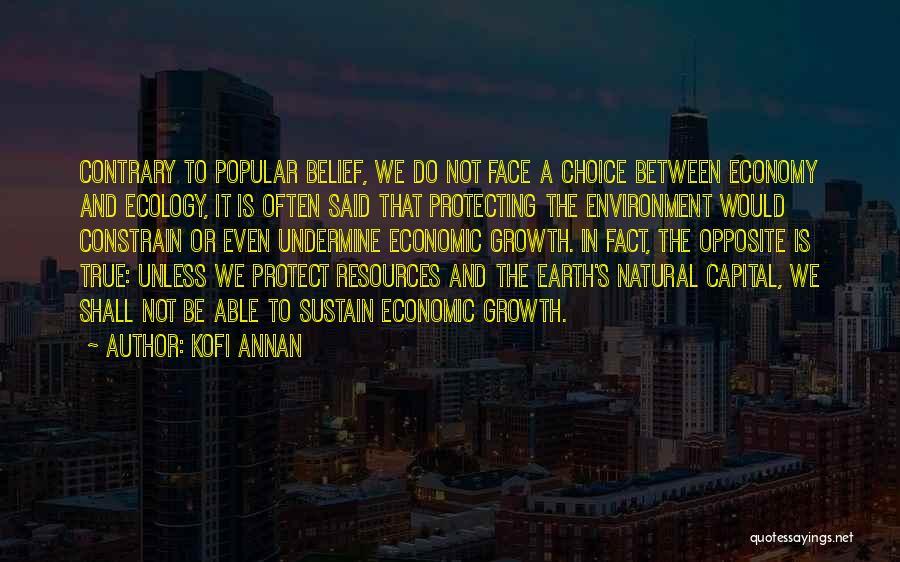 Choice Quotes By Kofi Annan