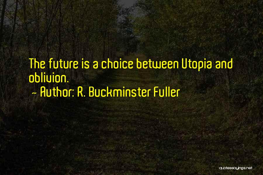 Choice Quotes By R. Buckminster Fuller