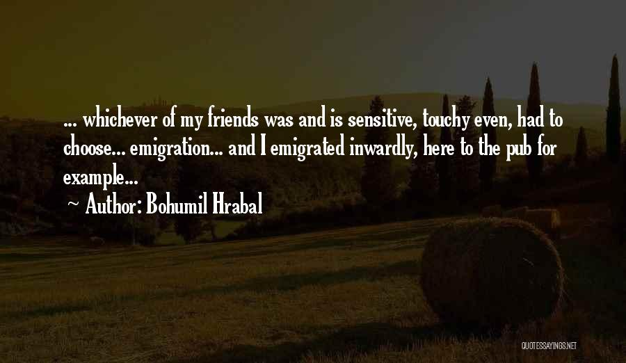 Choose Your Own Friends Quotes By Bohumil Hrabal