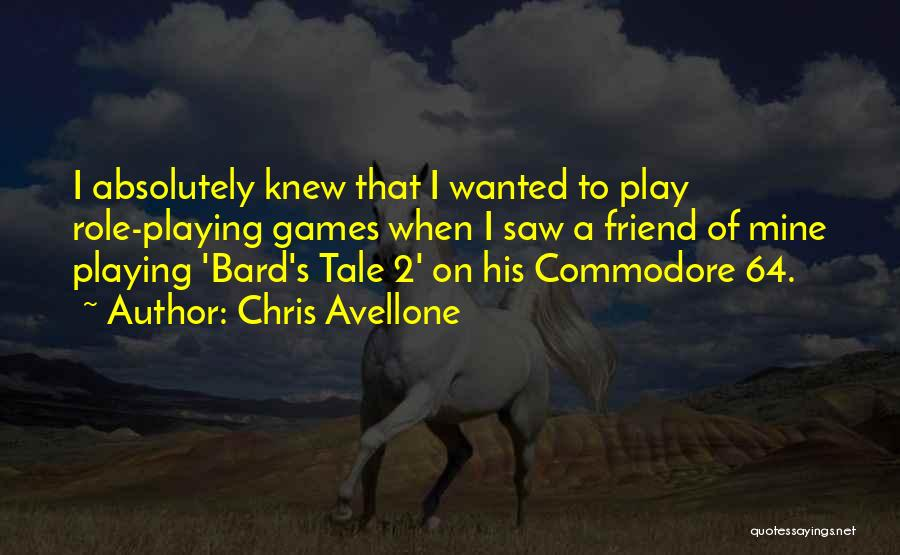 Chris Avellone Quotes 1008571