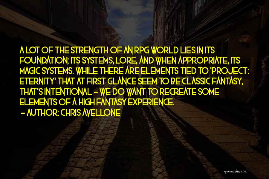 Chris Avellone Quotes 205883
