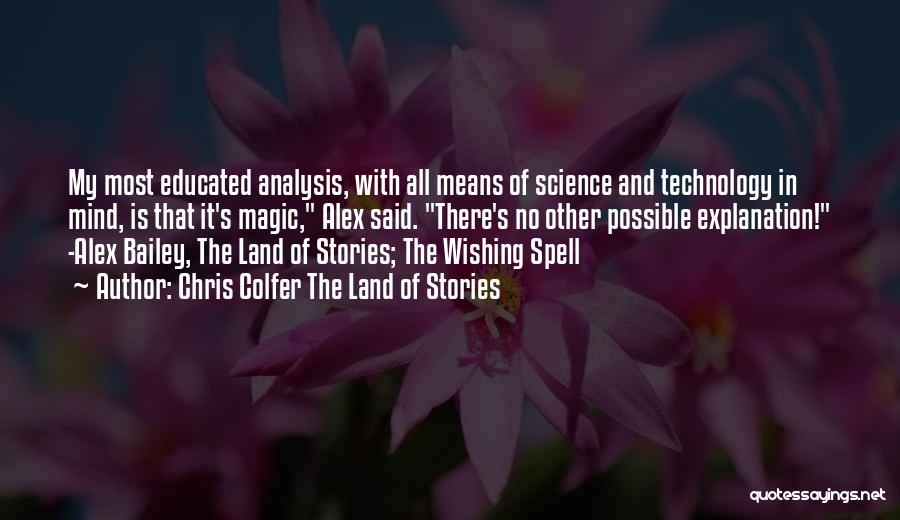 Chris Colfer The Land Of Stories Quotes 1589311