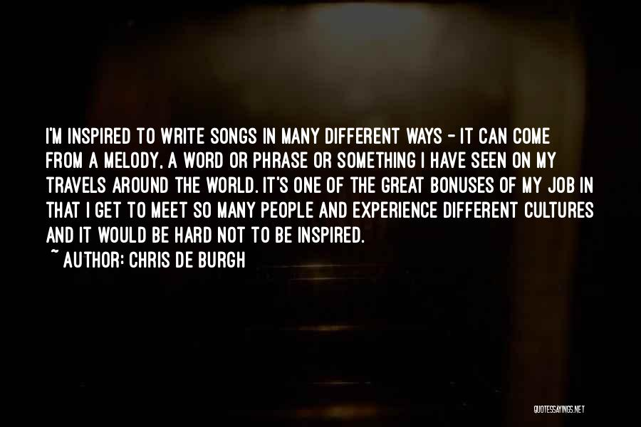 Chris De Burgh Quotes 516685