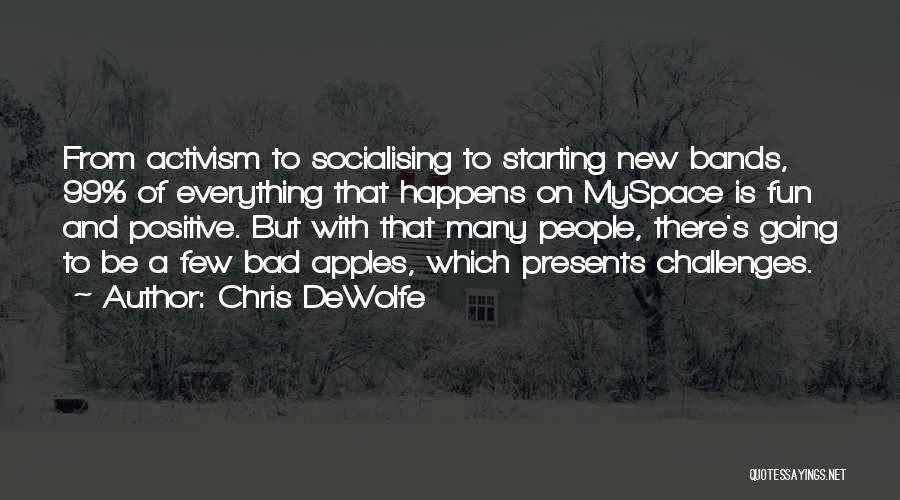 Chris DeWolfe Quotes 1718927