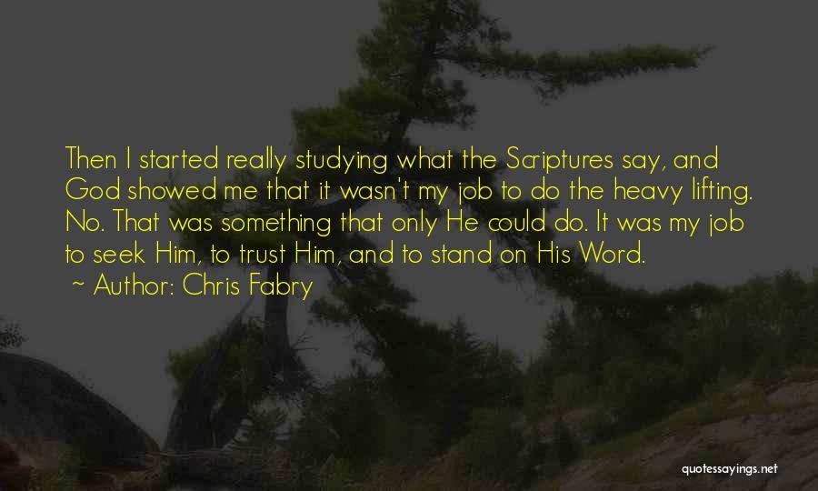 Chris Fabry Quotes 1376363