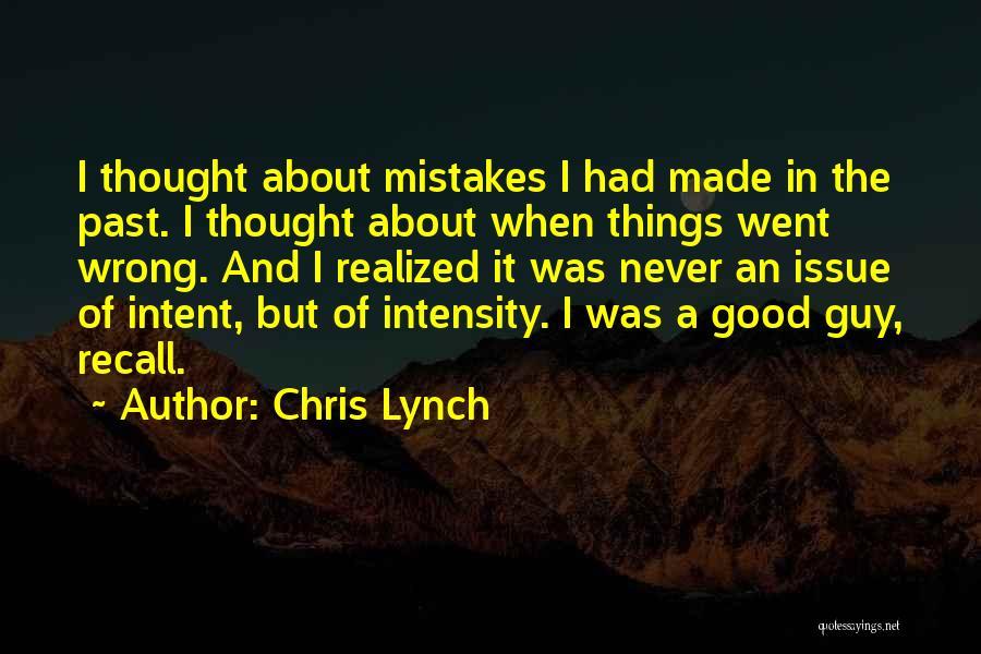 Chris Lynch Quotes 1103524