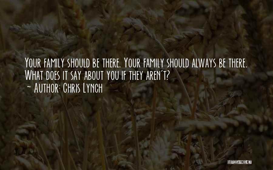 Chris Lynch Quotes 727155