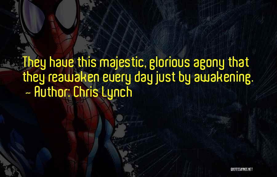 Chris Lynch Quotes 912514