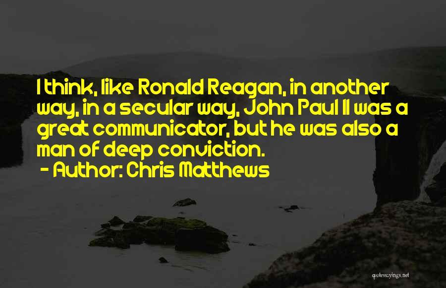 Chris Matthews Quotes 1733130