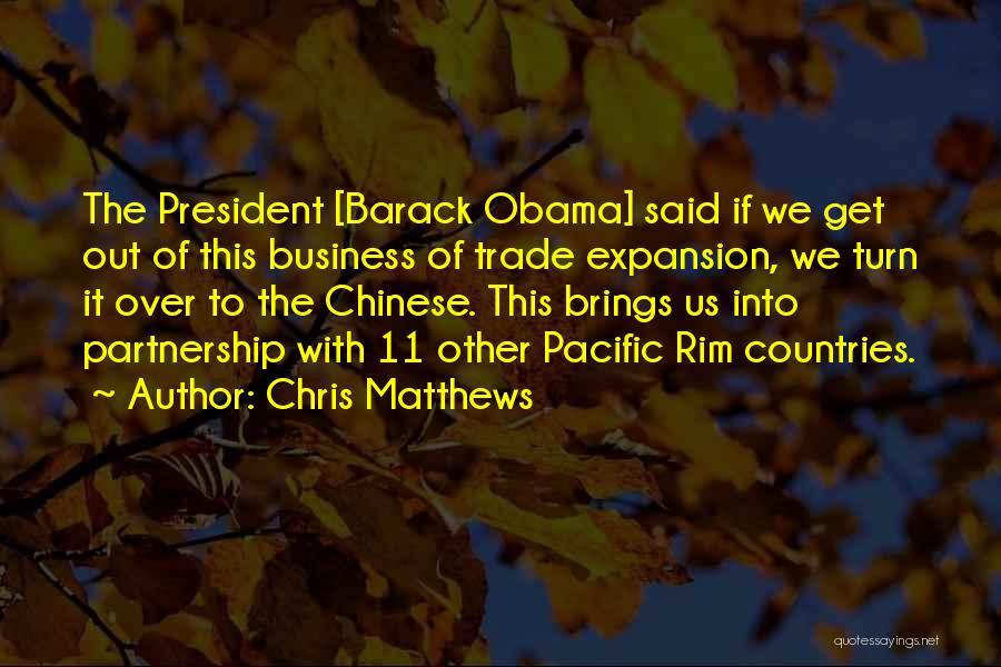 Chris Matthews Quotes 2099080