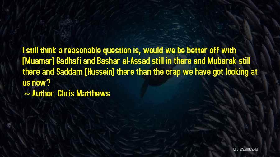 Chris Matthews Quotes 282524