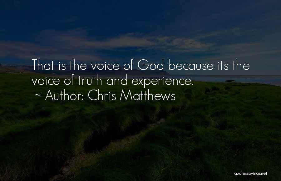 Chris Matthews Quotes 353765