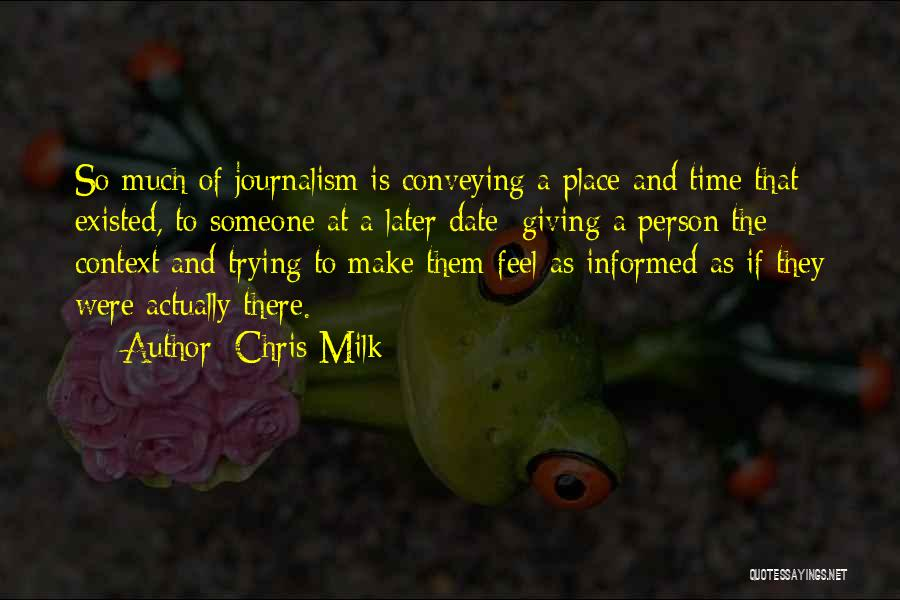 Chris Milk Quotes 626767