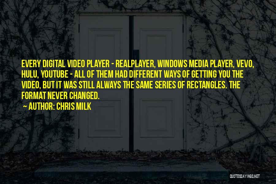 Chris Milk Quotes 931011