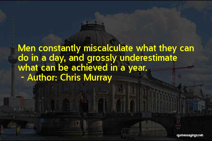 Chris Murray Quotes 1715935