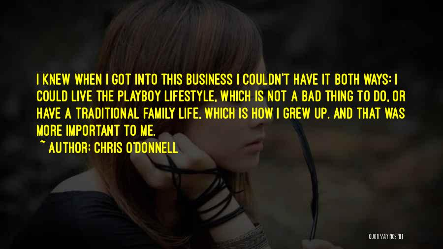 Chris O'Donnell Quotes 1230235