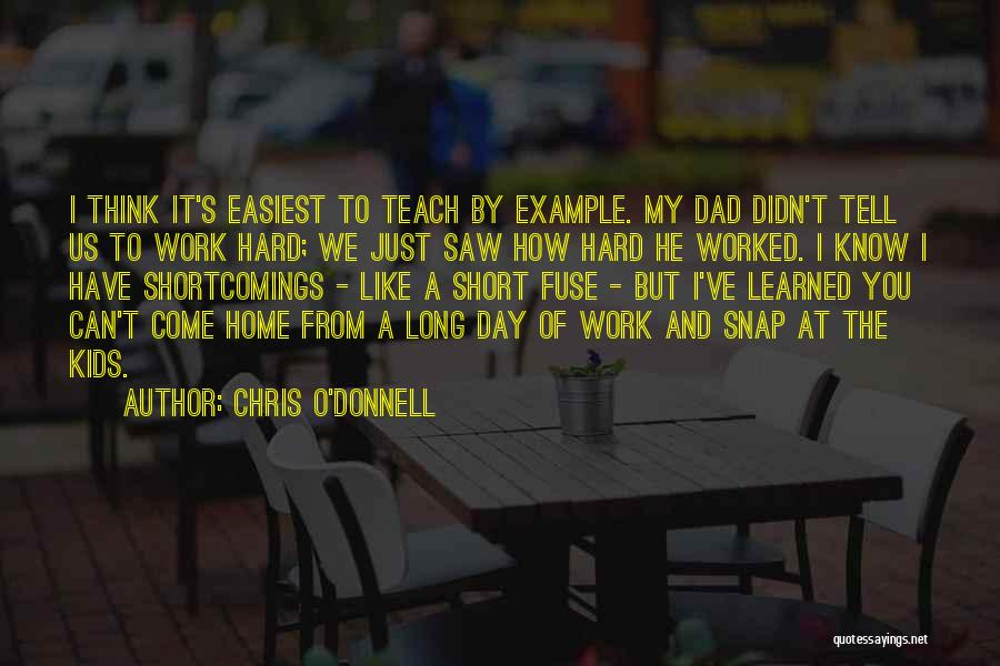 Chris O'Donnell Quotes 976551